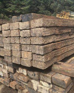 Softwood Reclaimed Railway Sleepers Raised BEds Boundaries
