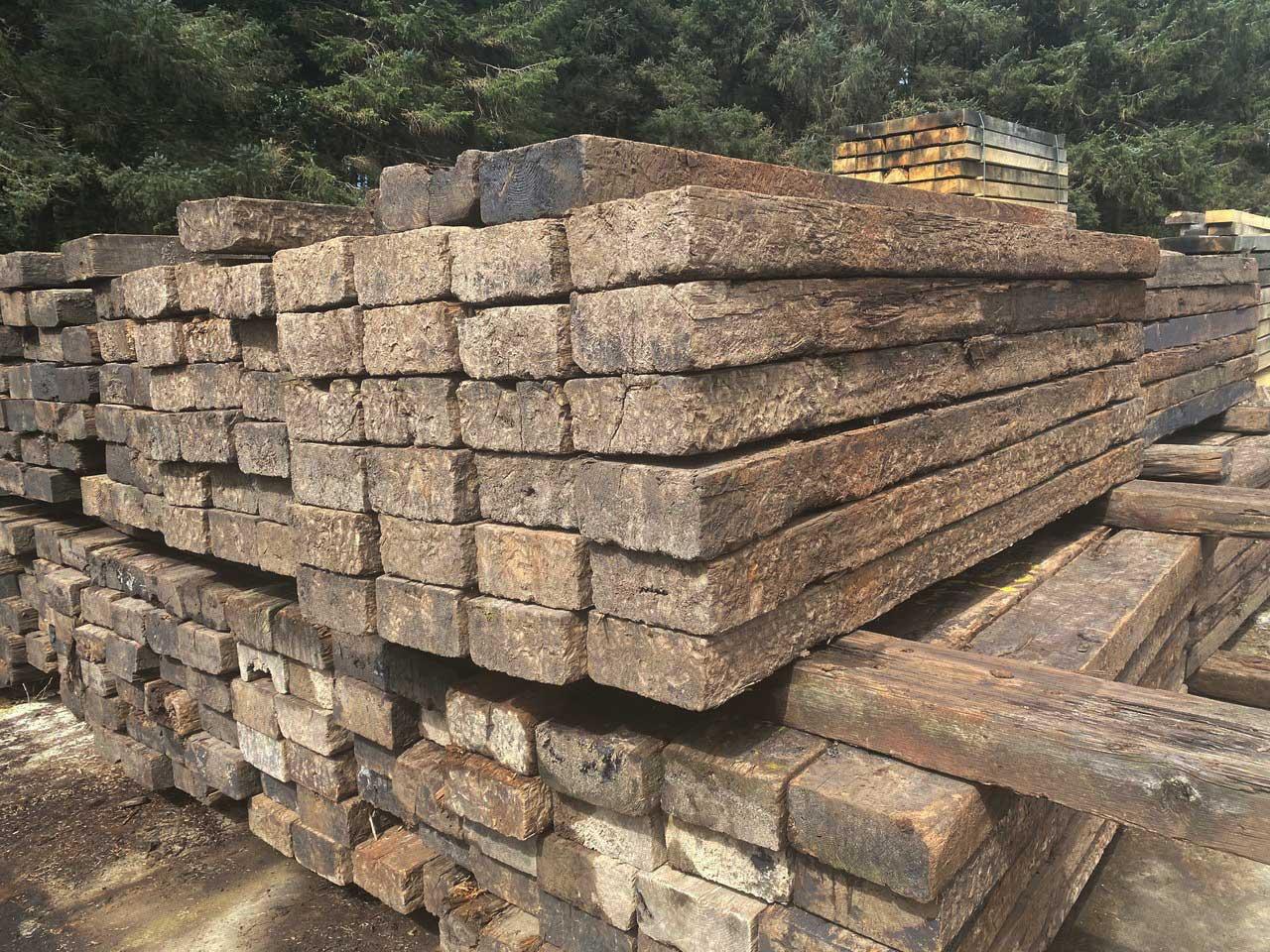Reclaimed Railway Sleepers • Celtic Timber