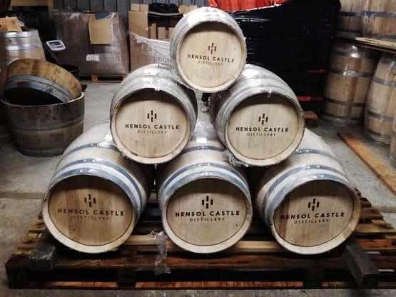 Engraved Brand New Chestnut Hardwood Barrels