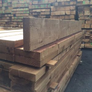 10 X 2.5 X 8FT Softwood Railway Sleepers