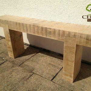 8x4 Oak Garden Bench