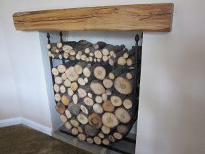 Oak Beam Mantle Piece