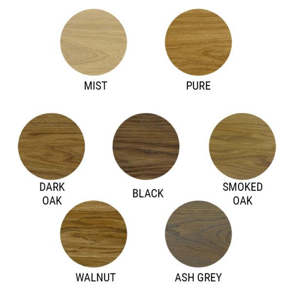 Coloured Oak Oils Oak Beams