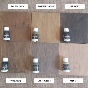 Coloured Oak Protective Oils