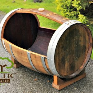 Oak Barrel Planters