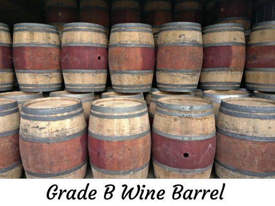 Used Oak Red Wine Barrel for Sale