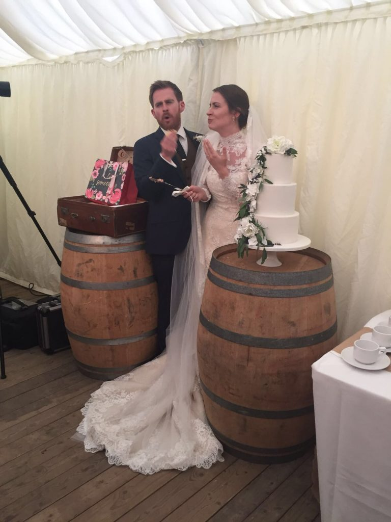 Wine Barrel Hire for Weddings and Functions