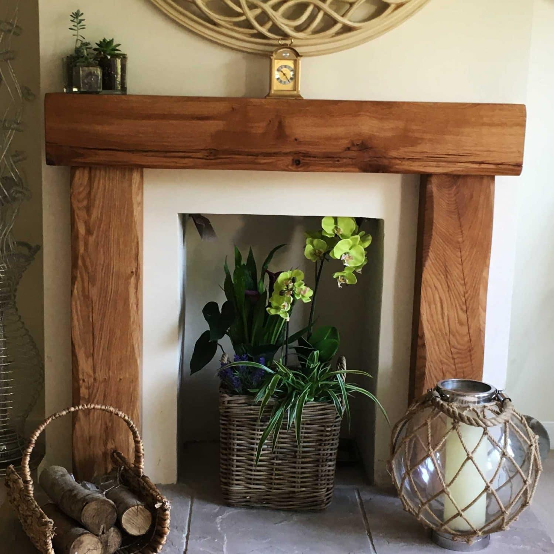 Oak Beam Fireplace Surround Celtic Timber