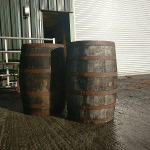 Reclaimed Whiskey barrel