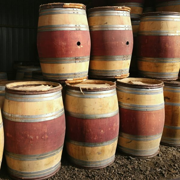 Full Size Oak Wine Barrels