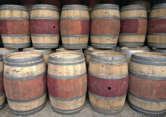 Oak Red Wine Barrel Watertight For Waterbutts and Tables