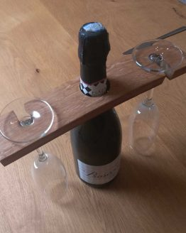 Oak Barrel Stave Wine Glass Holder