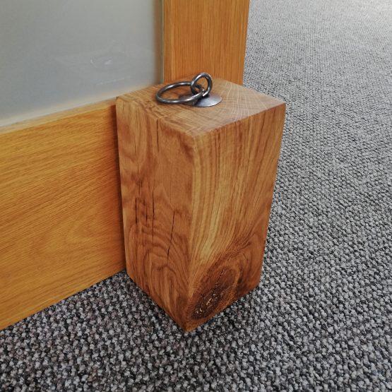 """Solid Oak Beam Door Stop Heavy Duty 5"""" x 5"""""""