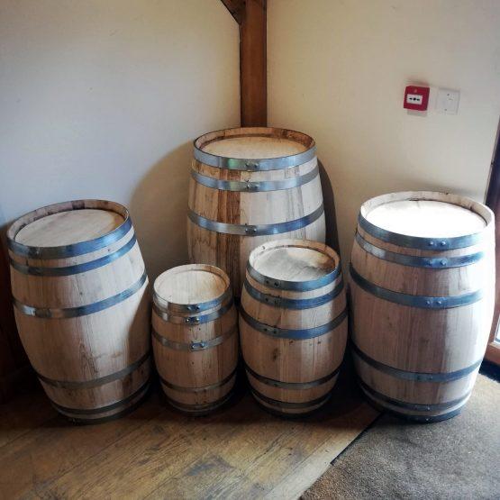 New Chestnut Decoration Barrels Suitable for Interior Use