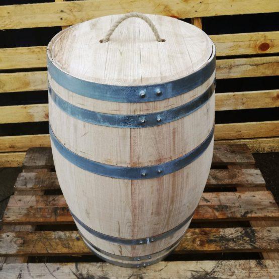 Hardwood Chestnut New Barrels With Removable Lid - 100L