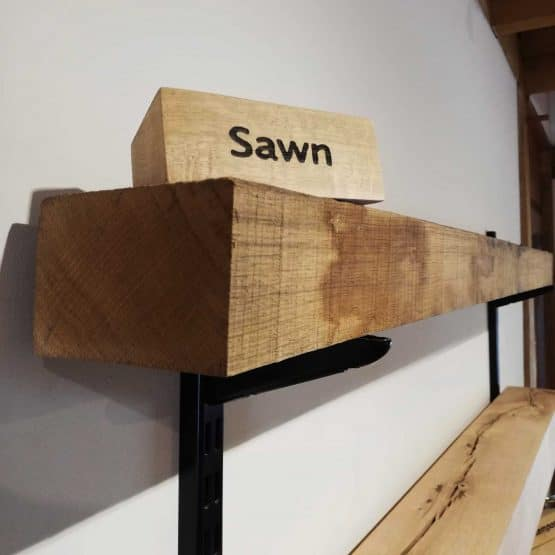 Sawn Only Oak Beam Mantels and Fireplaces