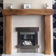 Lightly Worked Fire Surround