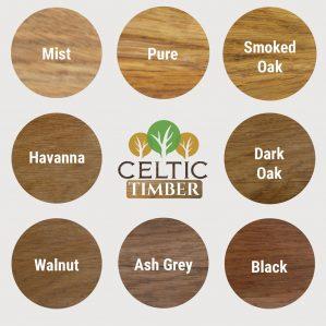 Coloured Protective Oak Oils