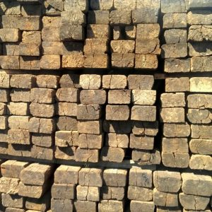 Reclaimed Grade A Railway Sleepers