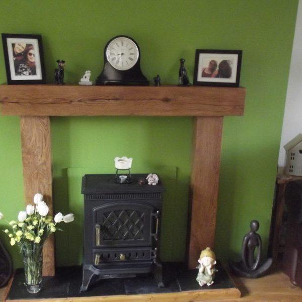 Oak Beam Fireplace Surround