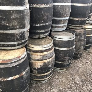 55 gallon ex sherry and wine barrels
