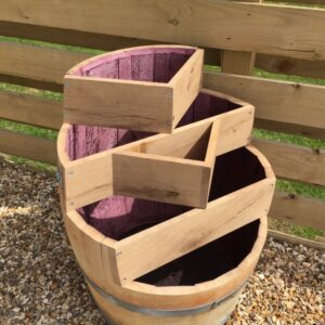Wooden Layered Planter