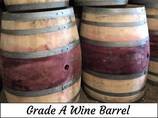Grade A 55 Gallon Wine Barrel