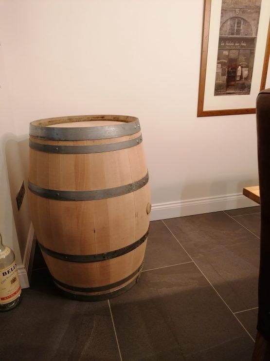 Refurbished Oak Wine Barrel