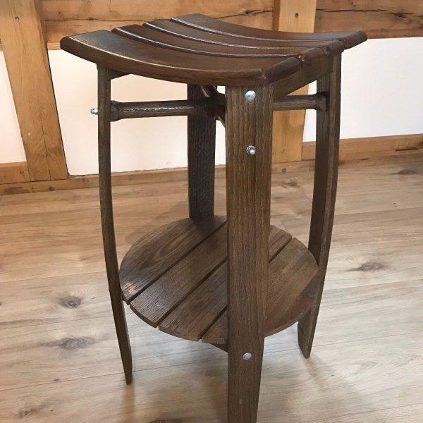 Oak Wine Barrel bar Stool