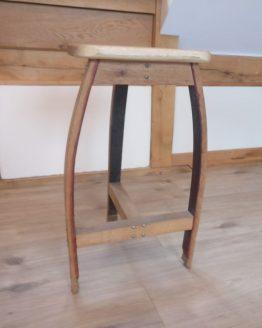 Oak Barrel Stool