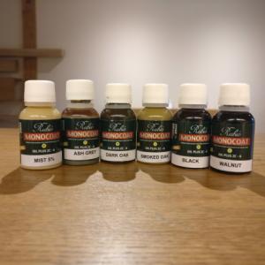 Coloured Oak Oils