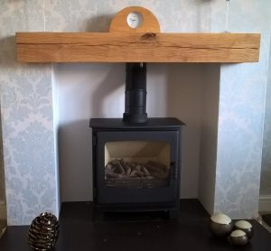 Contemporary Finished Solid French Oak Beam