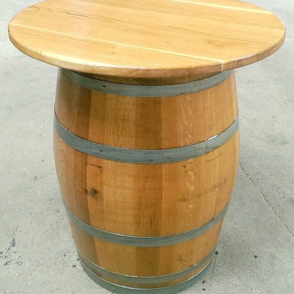 Oak Barrel Tables