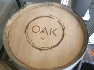 OakN4 Wine Bar Wine Barrel Engraving