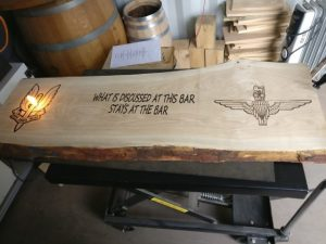 Who Dares Wins Laser Engraving