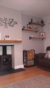 Oak Kiln Dried Shelves