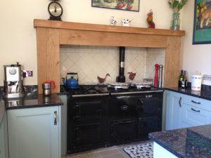 Oak Beam Kitchen Age Surround