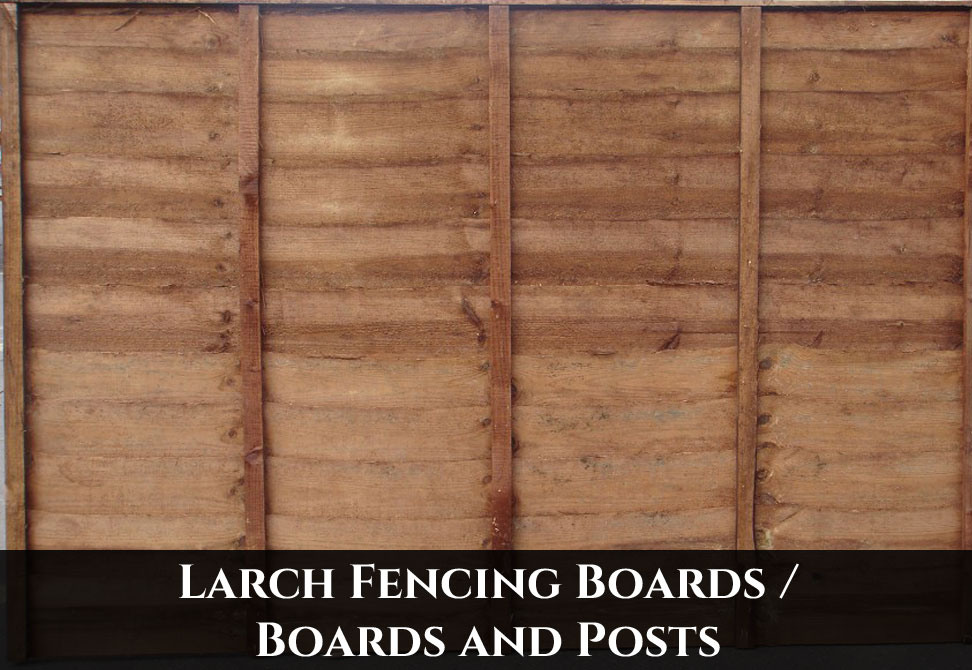 Larch Fencing Boards