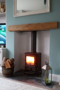 Oak beam Mantelpiece Competition - Lightly Worked