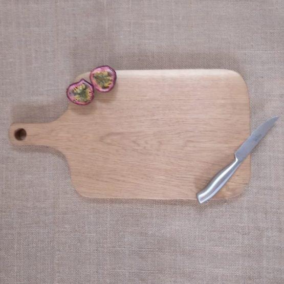 Oak Chopping Board with Handmade Wooden Handle