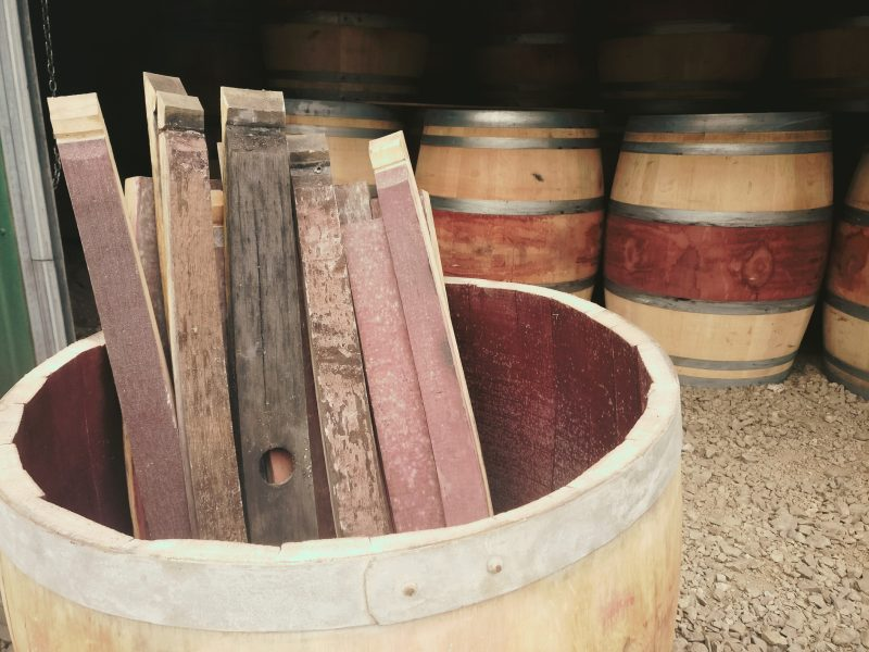 Oak Barrel Staves Celtic Timber