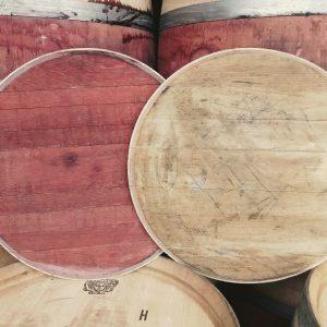 Wine Barrel Lids