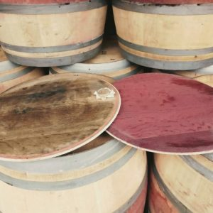 Rustic Wine Barrel Lids