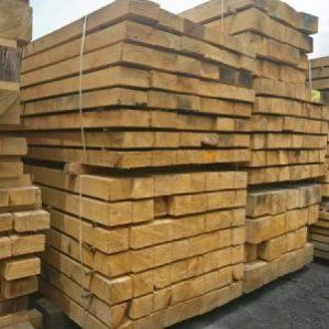 Green Oak beams - QP1, Structural Grade