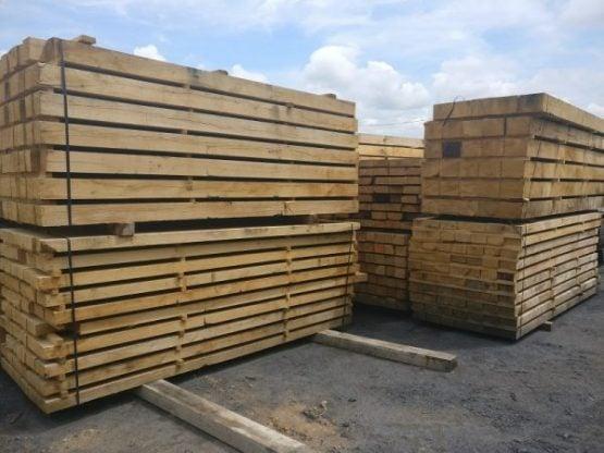 Green Oak for Construction / Restoration Use