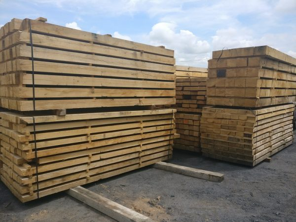 Green Oak for Construction / Restoration Use