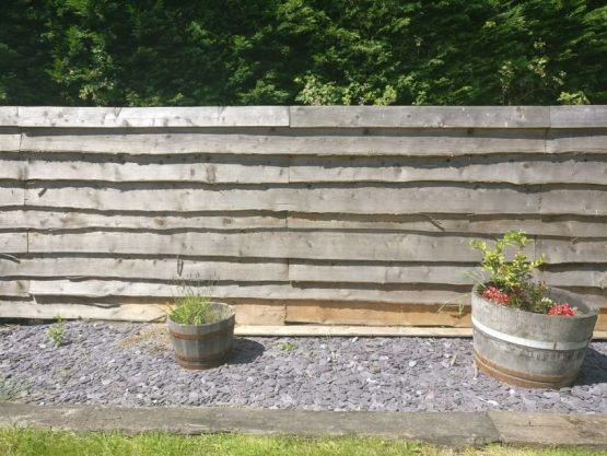 Larch Fence Panels