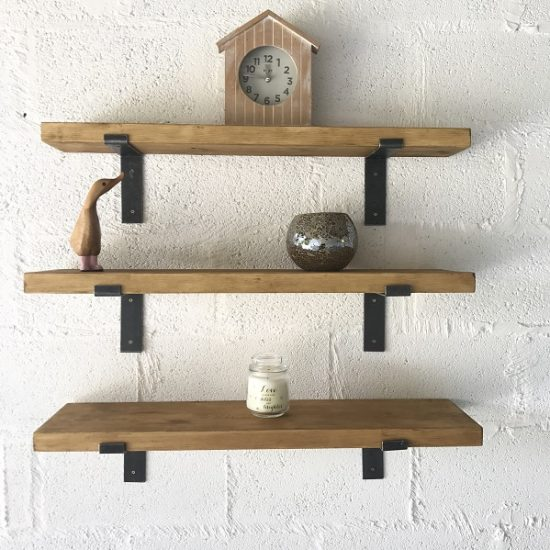 High Quality Pine Shelves