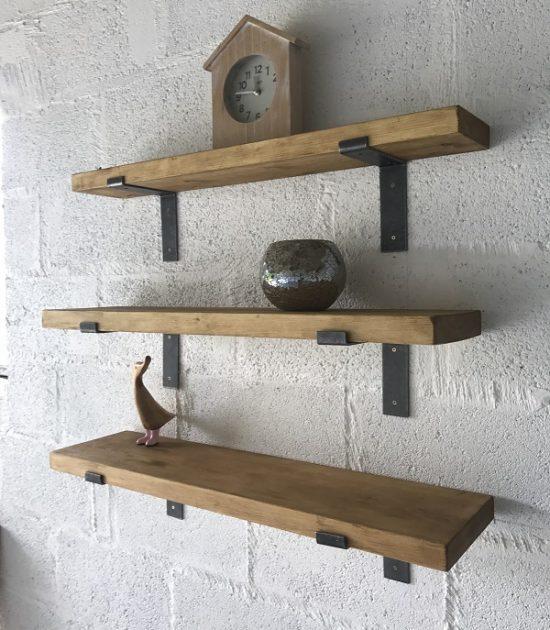 High Quality Pine Shelves