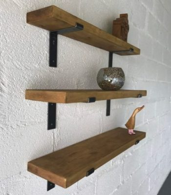 Decorated Pine Shelves, Kiln Dried